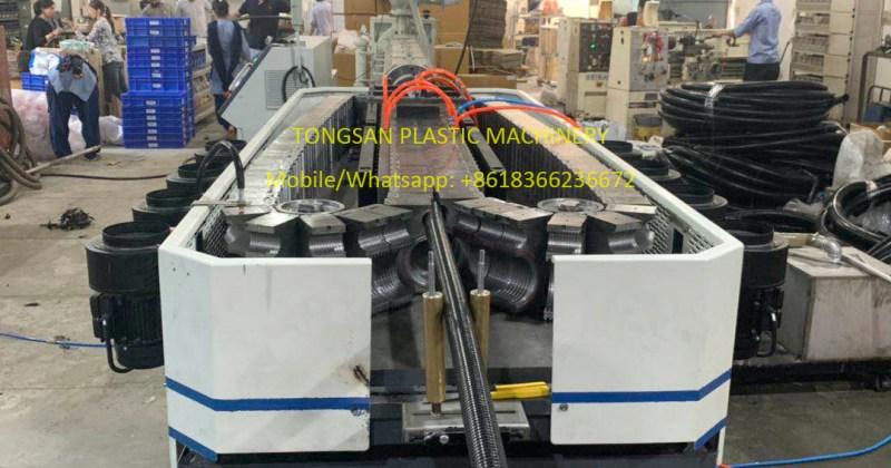 nylon PA corrugated pipe extrusion machine