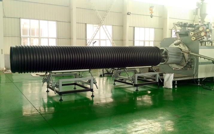 HDPE Krah Drain Pipe Extrusion Machine