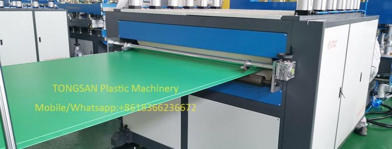 correx sheet extrusion machine
