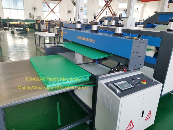 machine de fabrication de feuille de correx