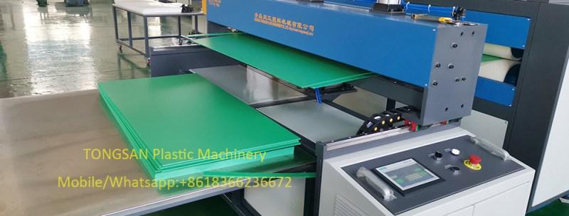 correx sheet making machine