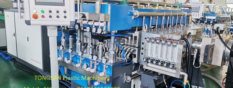correx sheet machine