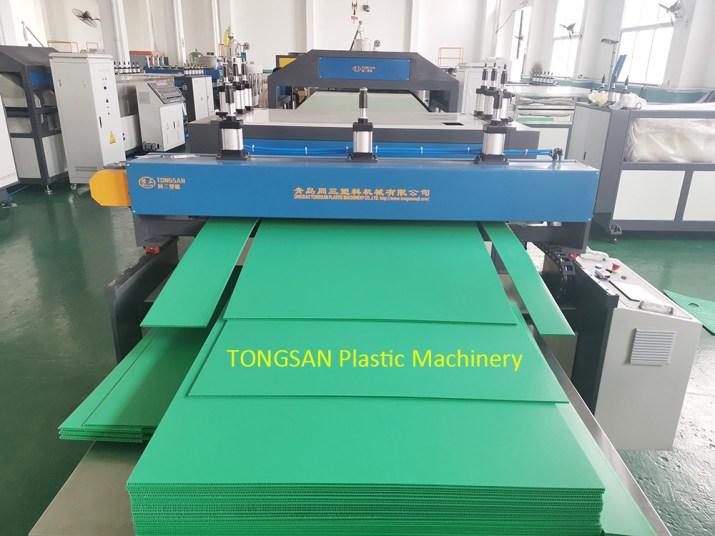 PP Hollow Corrugated Sheet Machine