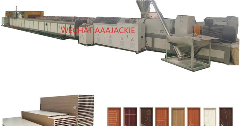 WPC Door Production Machine