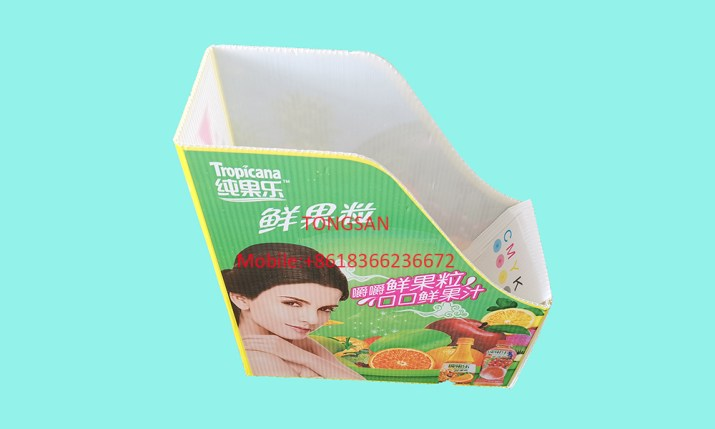 Printed PP Corrugated Sheet