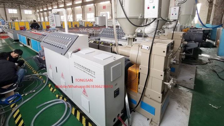 PE PP ABS Profile Extrusion Machine