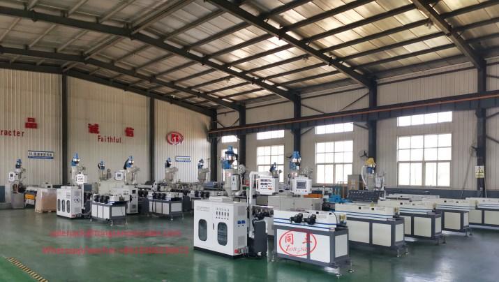 Fabricante de máquinas de tubo corrugado PP PEAD PVC Nylon