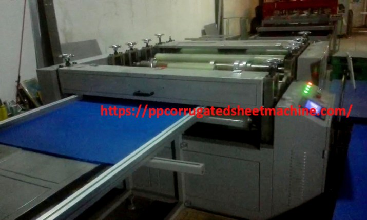 PP Collapsible Pallet Box Making Machine