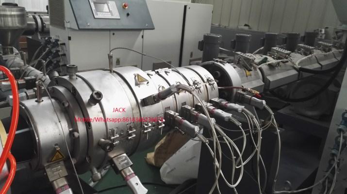 machine de production de tube pehd