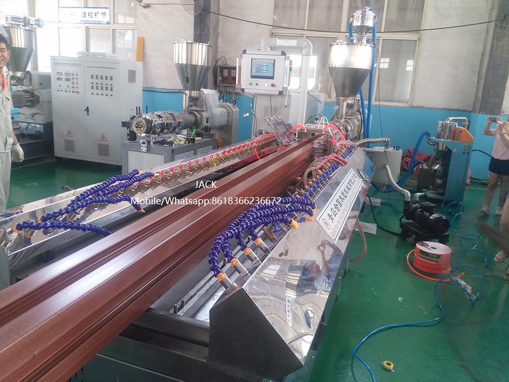 WPC Railing Making Machine