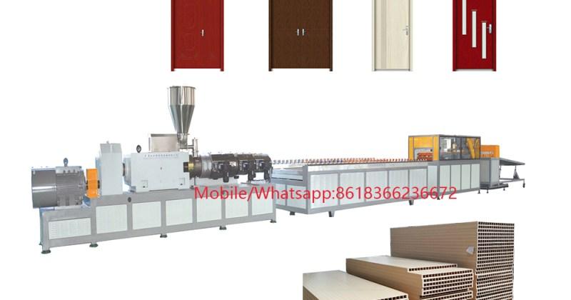 WPC PVC Door Making Machine