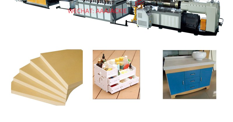 WPC board machine for furniture kitchen cabinet