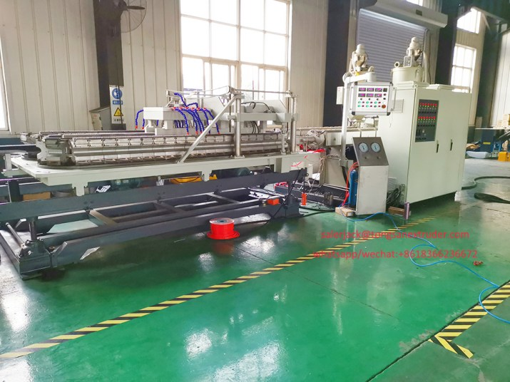 Double Wall Plastic Corrugated PIpe Production Line