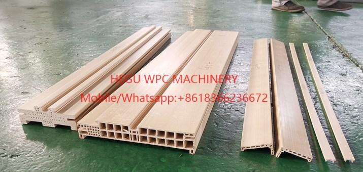 WPC Door Frame Machine