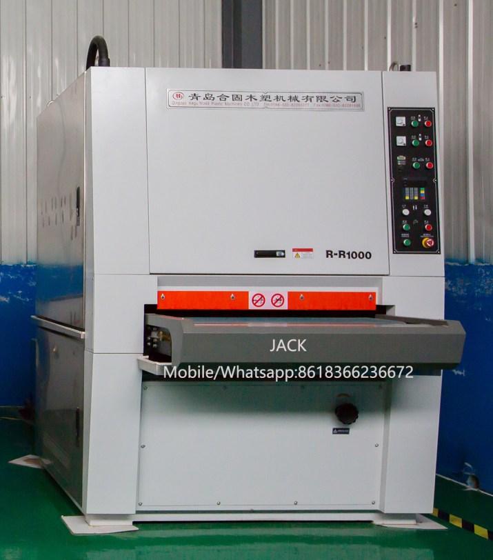 Máquina de  lijadora para panel de puerta de WPC PVC