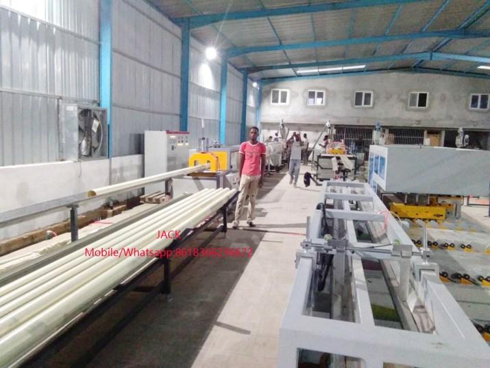 Máquinas de extrusión de PVC