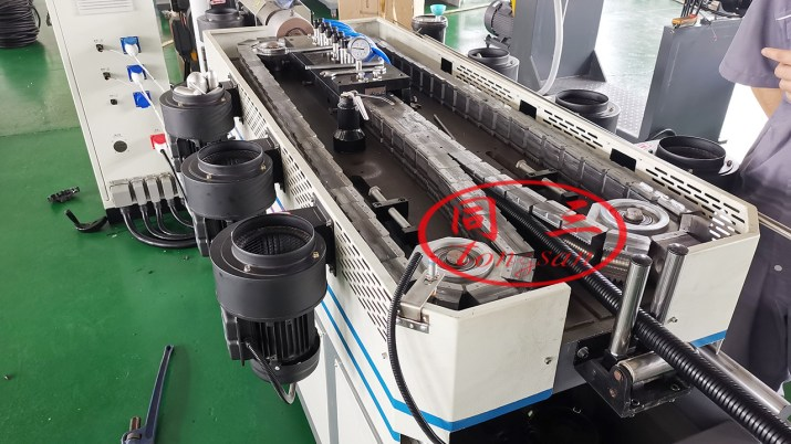 Plastic Flexible Corrugted Pipe Machine