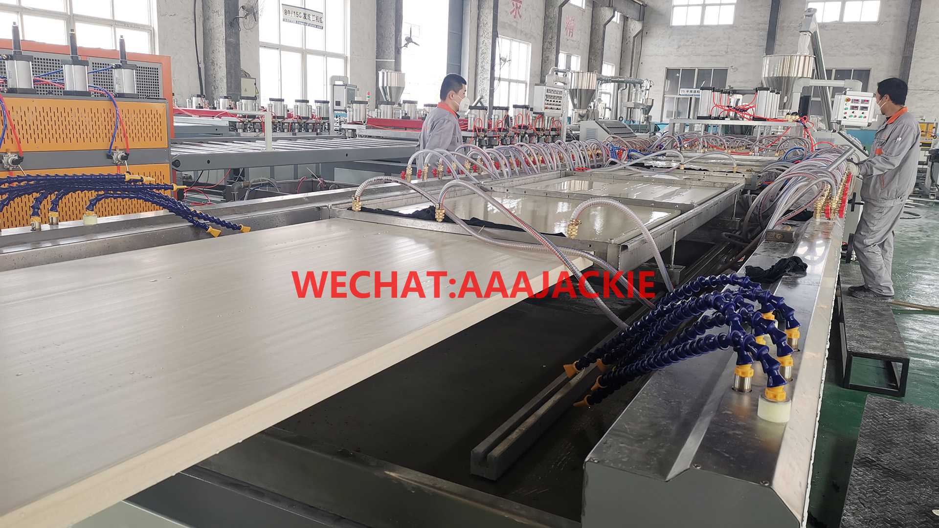 Máy sản xuất Cửa Nhựa Gỗ Composite