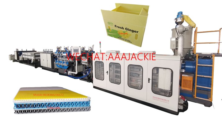 Máy sản xuất tấm nhựa PP danpla