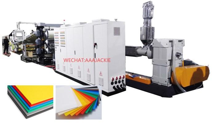 Máy sản xuất tấm nhựa ABS PMMA