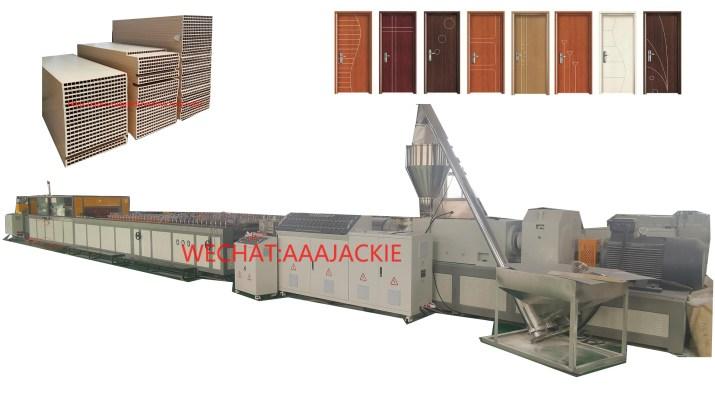 Máy sản xuất Cửa Nhựa Gỗ Composite WPC