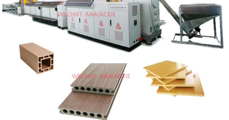 Wood Plastic Composite WPC Extrusion Machine