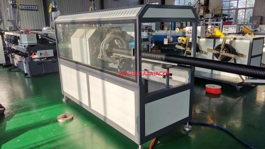 HDPE corugated pipe production machine