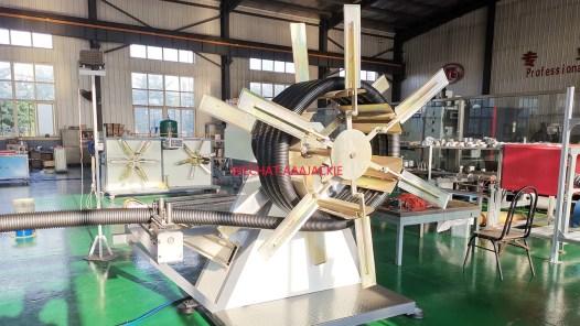 40-110mm HDPE corrugated pipe machine