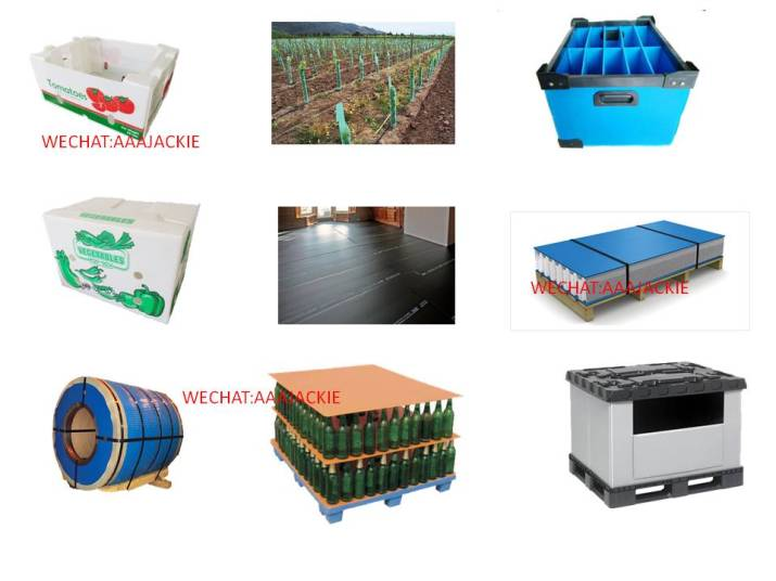 PP Corrugated Sheet Application