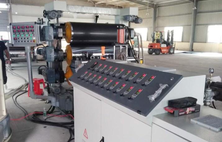 แผ่นเครื่องผลิต PP PE HDPE