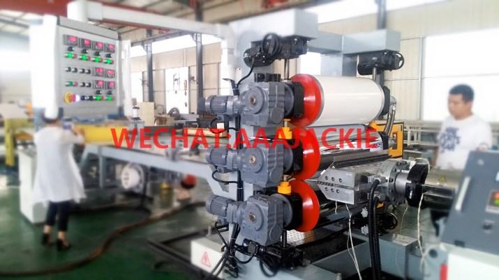 Kenar Bandı için PVC Levha Üretim Makinesi
