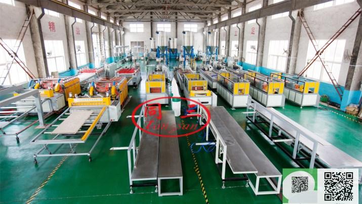 Ahşap Plastik Kompozit Üretim Makinası Üreticisi ve Fabrikası