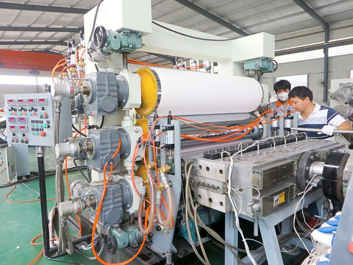 Plastik PVC Levha Ekstrüzyon Makinesi