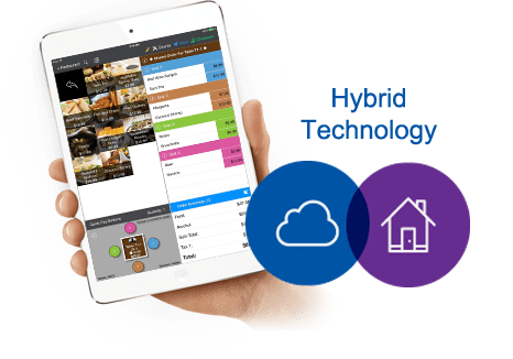 TouchBistro hybrid technology