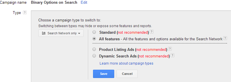 Success foundation to a successful adwords camapign- Subtypes Search