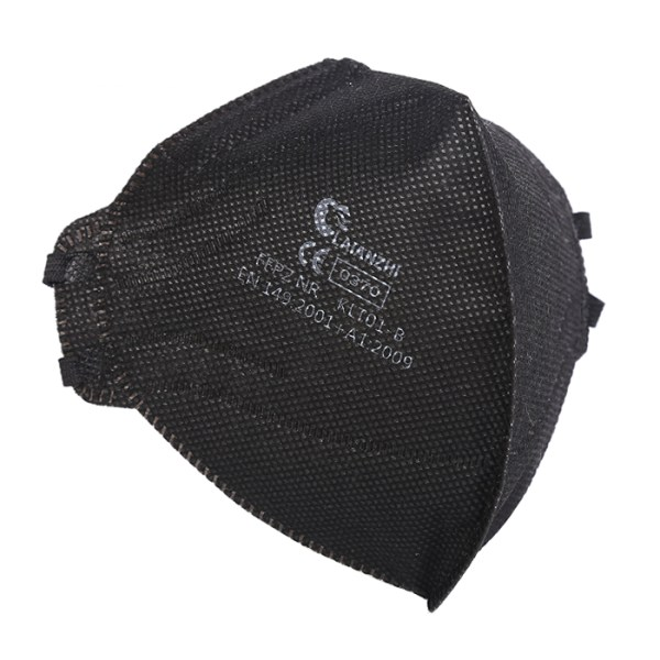LAIANZHI KLT01-B FFP2 NR Black Mask Particulate Respirator