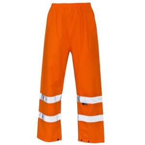 Hi Vis Trousers- Rail Spec