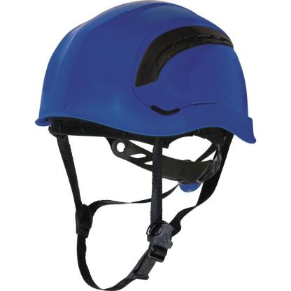 Granite Wind Blue safety Helmet with 8 fixing points