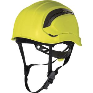 Granite Wind Yellow safety Helmet with 8 fixing points