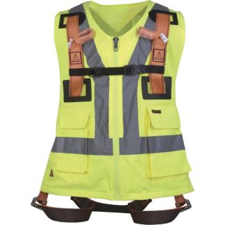 HAR12GILJA Fall arrest Harness with Hi-Vis Vest