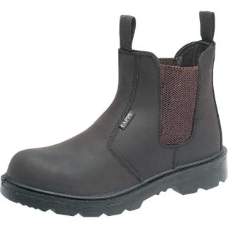 Delta Plus LH408 S1 Brown Oily Leather Dealer Boot Composite toe cap workwear footwear