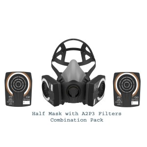 HM 1400 Half Mask Combination Pack with A2P3 Filters