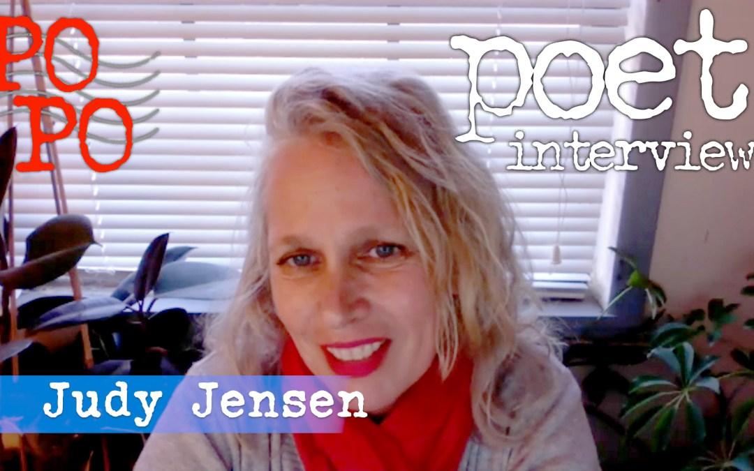 Judy Jensen Poetry Postcard Fest Interview