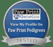 Paw Print Pedigrees Dog Seal