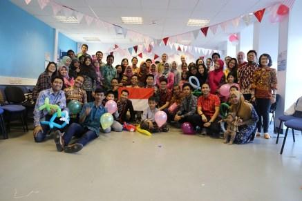 Mahasiswa dan warga Indonesia di Belfast