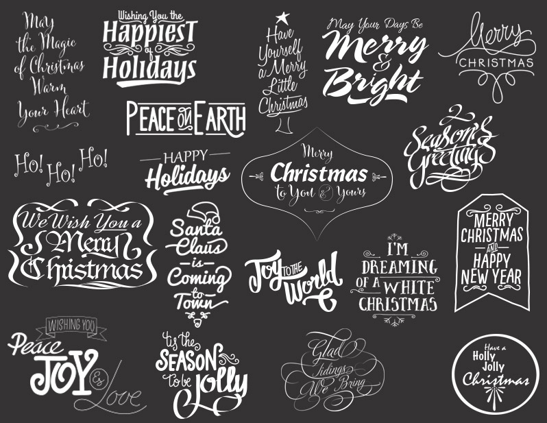 Christmas Photo Overlays To Make Your Yuletide Bright