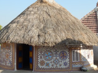 Typical houses in Kutch