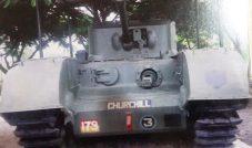 Churchil battle tank