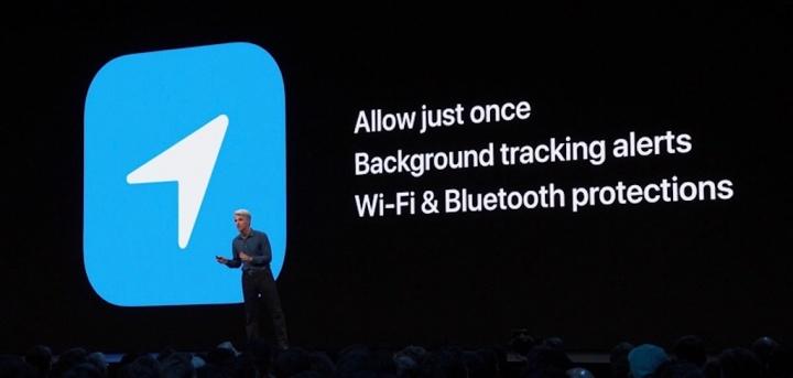 Apple iOS 13 WWDC Privacidade bluetooth