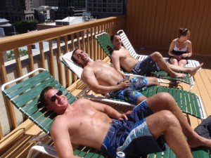 Chicago Apartments, Summer Fun, 1133 N Dearborn, Pool Party